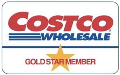 Costco 金星會員卡