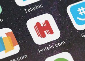 Agoda、booking.com、Hotels.com