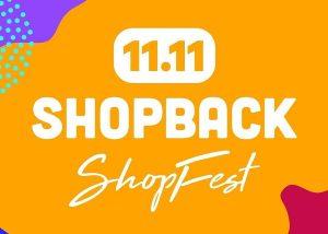 ShopBack 雙 11